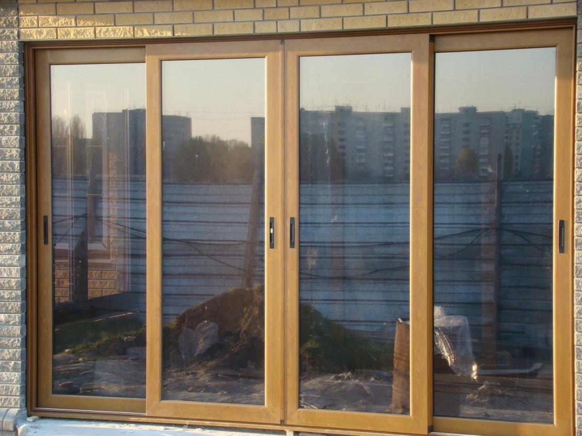 Раздвижное окно на балкон своими руками.