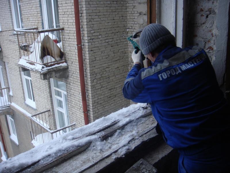 Установка пластиковых окон зимой
